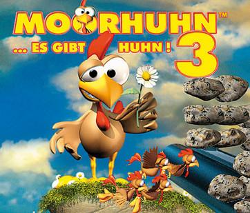 Actionspiel Moorhuhn 3: Buchstaben