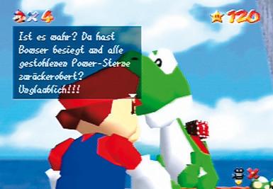 Actionspiel Super Mario 64: Yoshi