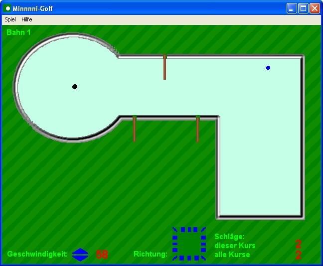 Screenshot 1 - Minnnni-Golf
