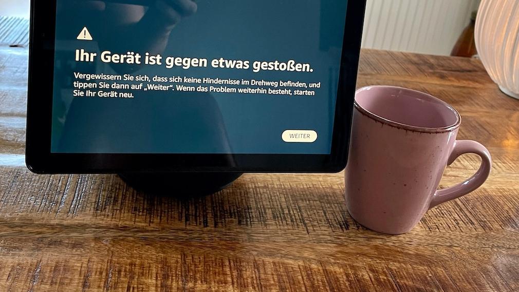 Amazon Echo Show 10, Hinderniserkennung