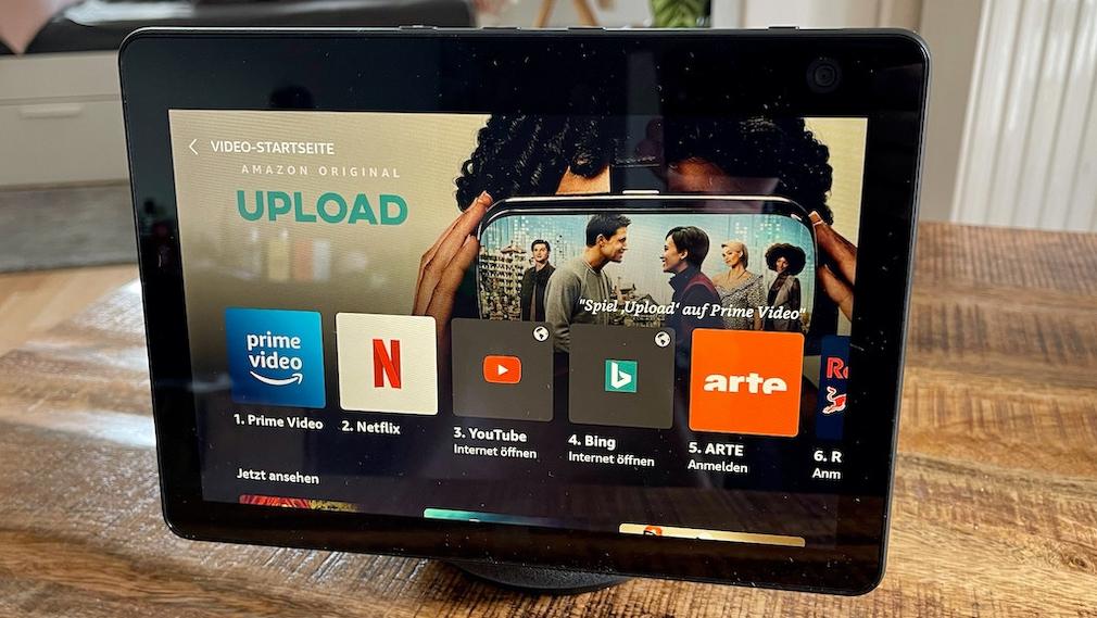 Amazon Echo Show 10, Video-Startseite