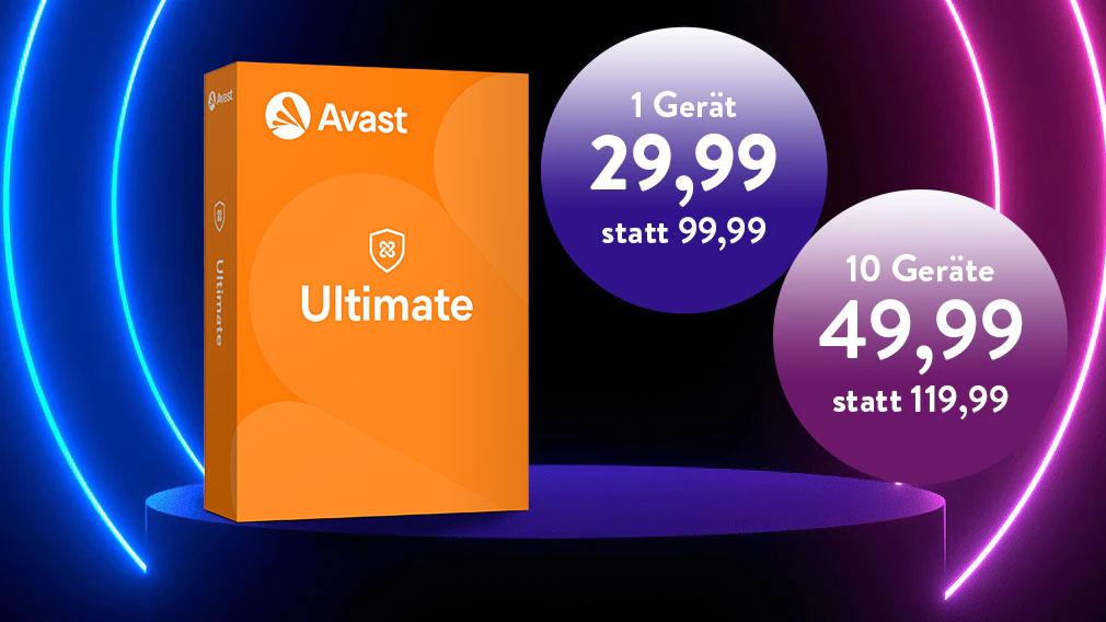 Avast Ultimate zmit Mega-Rabatt©iStock.com/akinbostanci, Avast