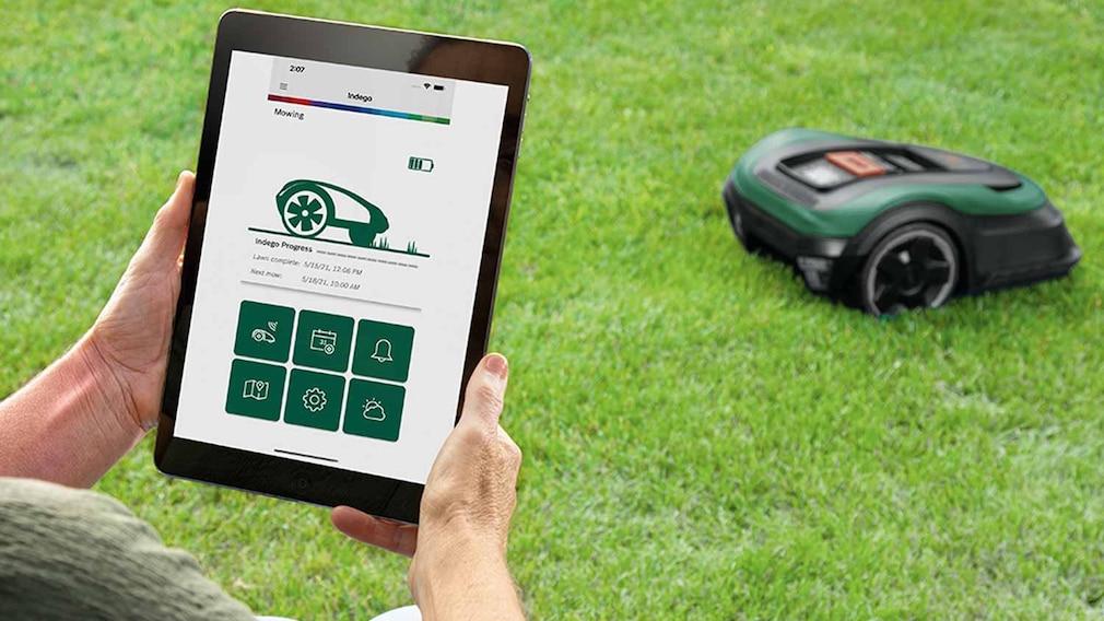 Mähroboter Bosch Indego M+ 700 günstig bei tink