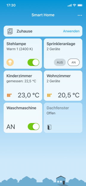 FritzApp Smart Home (App für iPhone & iPad)