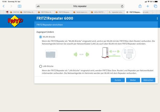 FritzRepeater 6000: WLAN-Brücke©COMPUTER BILD