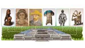 Google Doodle für Metropolitan Museum of Art©Google