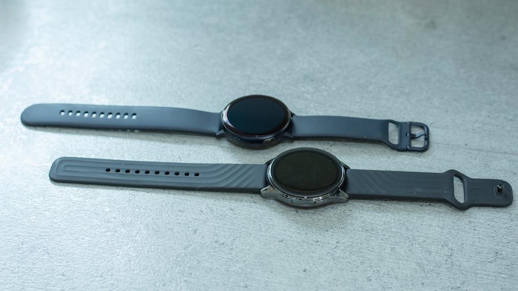 OnePlus Watch und Galaxy Watch Active 2
