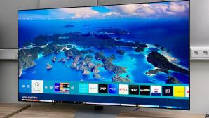 Samsung-Fernseher mit diversen Apps©Samsung, COMPUTER BILD
