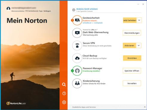 Norton 360 Premium©NortonLifeLock, Microsoft