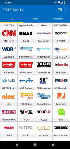 FritzApp TV (Android-App)