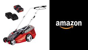 Stiftung Warentest testet Rasenmäher: Platz 1 von Einhell günstig bei Amazon©Amazon, Einhell