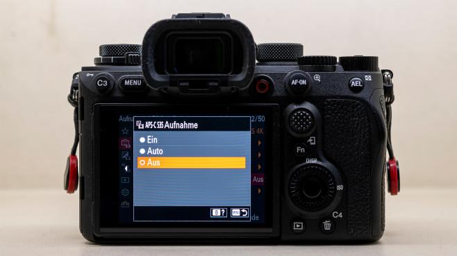 Sony Alpha 1 Einstellungen für Video©COMPUTER BILD
