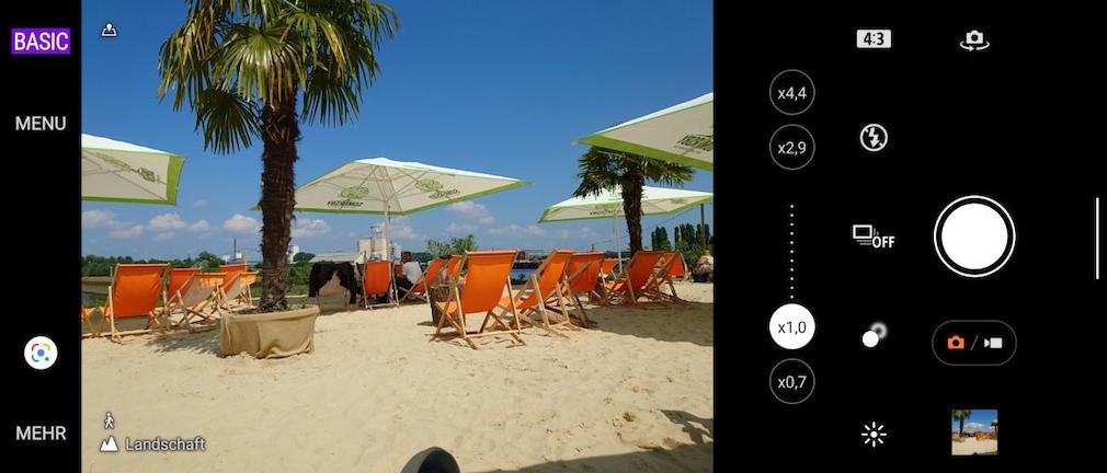 Sony Xperia 1 III: Basic-Kamera