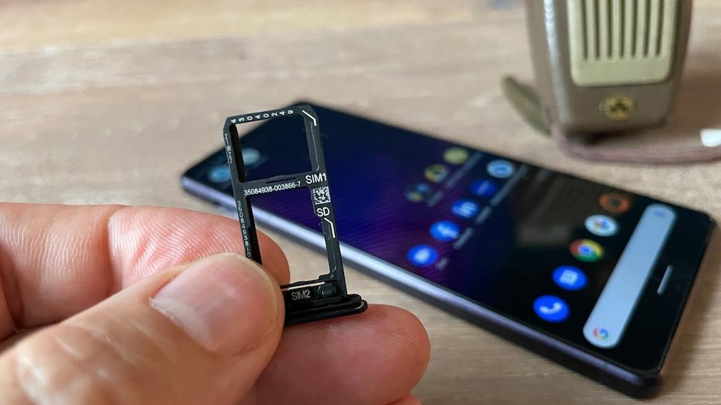Sony Xperia 1 III mit Platz für zwei SIM-Karten