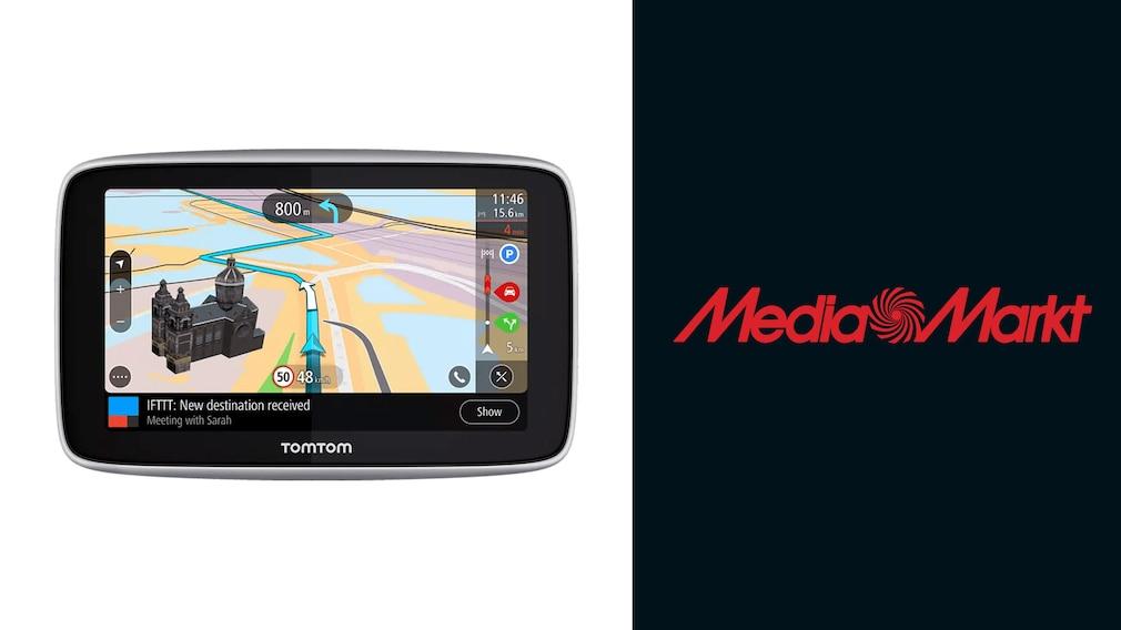 Navigationsgerät bei Media Markt im Angebot: TomTom zum Schnäppchenpreis