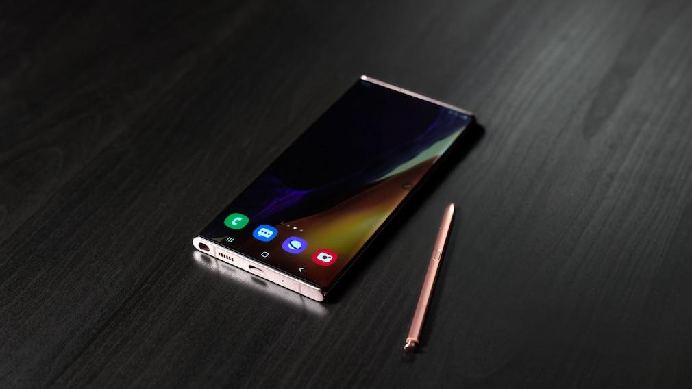 Samsung Galaxy Note 20 Ultra günstig bei Sparhandy