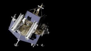 Der Lander Griffin mit dem Rover VIPER der NASA©Astrobotic