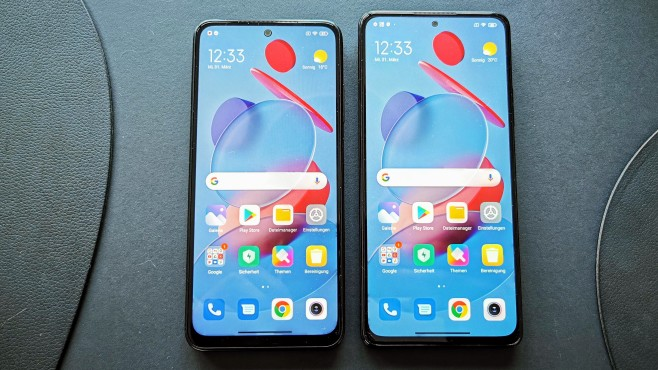 Xiaomi Redmi Note 10 vs Redmi Note 10 Pro©COMPUTER BILD / Michael Huch