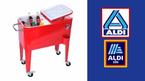 Kühlwagen bei Aldi im Angebot: Kalte Getränke zum Discounterpreis©Aldi