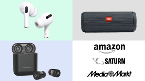 Amazon, Media Markt, Saturn: Top-Deals des Tages! © Saturn, Amazon, Media Markt, Motorola, Apple, JBL