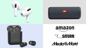 Amazon, Media Markt, Saturn: Top-Deals des Tages!©Saturn, Amazon, Media Markt, Motorola, Apple, JBL