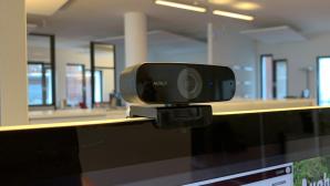Aukey PC-W3 im Test: Webcam für dunkle Ecken Munkelt gut im Dunkeln: Aukey Webcam PC-W3 im Test©Aukey, COMPUTER BILD