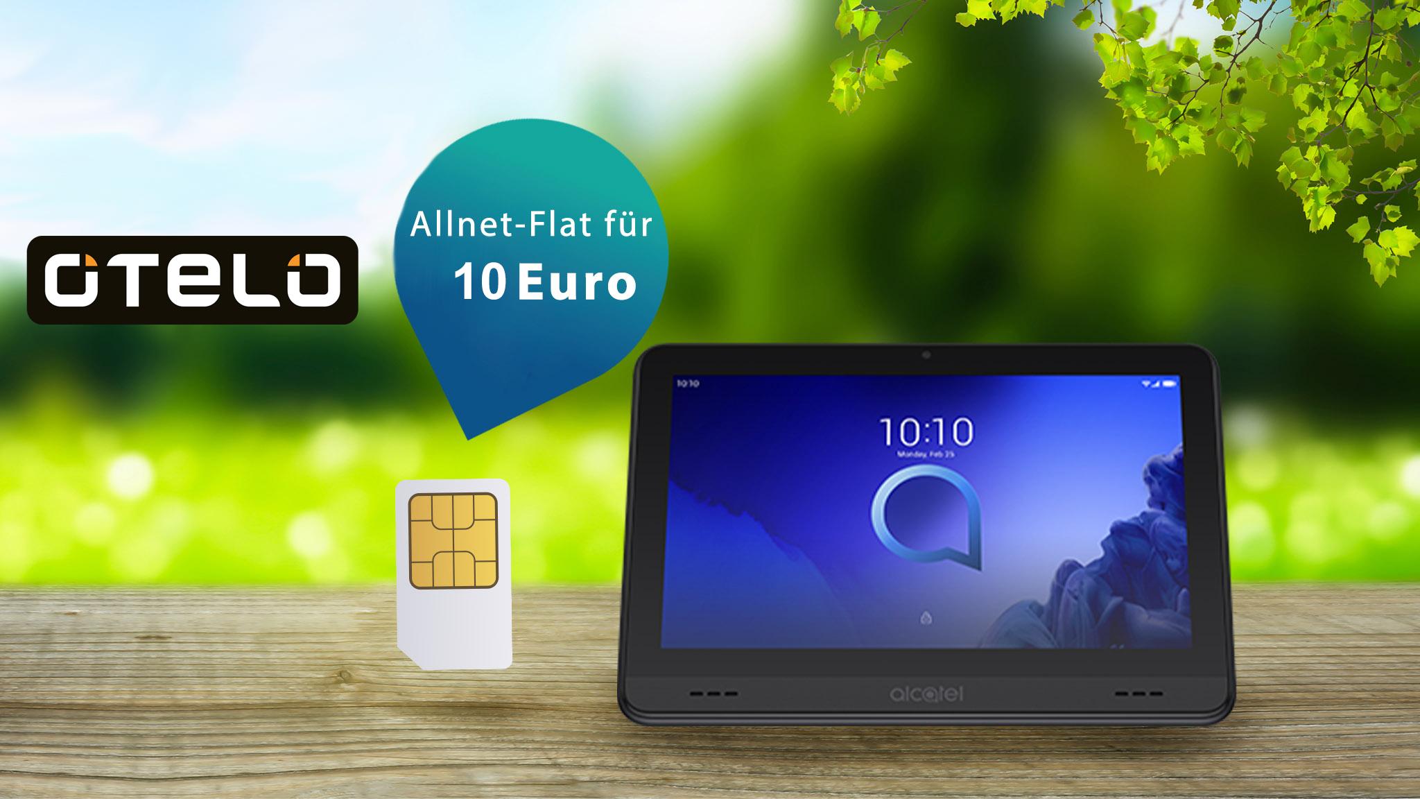 Otelo-Deal: Kleiner Preis, viel Datenvolumen, Gratis-Tablet