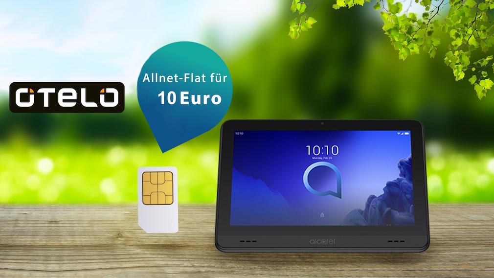 Otelo-Deal: Viel Datenvolumen, kleiner Preis, Gratis-Tablet
