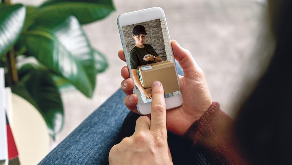 Medion WiFi-Türklingel, E85010 (MD88314), Handy-App