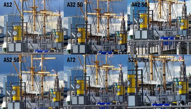 Kamera-Vergleich von A-Serie und S21 Ultra: 10 x Zoom©COMPUTER BILD