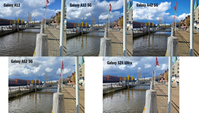 Kamera-Vergleich von A-Serie und S21 Ultra: Aufnahme mit Hauptkamera©COMPUTER BILD