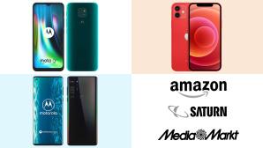 Amazon, Media Markt, Saturn: Top-Deals des Tages!©Amazon, Media Markt, Saturn, Motorola, Apple