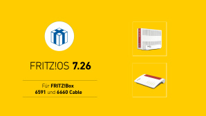 FritzOS 7.26 für FritzBox 6660 Cable und 6591 Cable © AVM