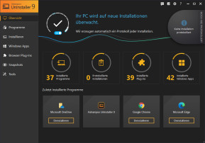 Ashampoo UnInstaller 9 – Kostenlose Vollversion