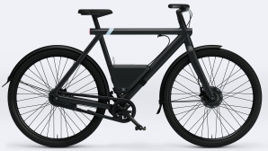 VanMoof S3 mit Powerbank. © VanMoof