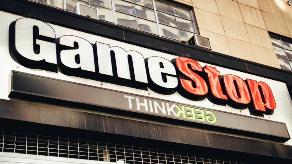 Logo eines Gamestop-Shops©dpa-Bildfunk