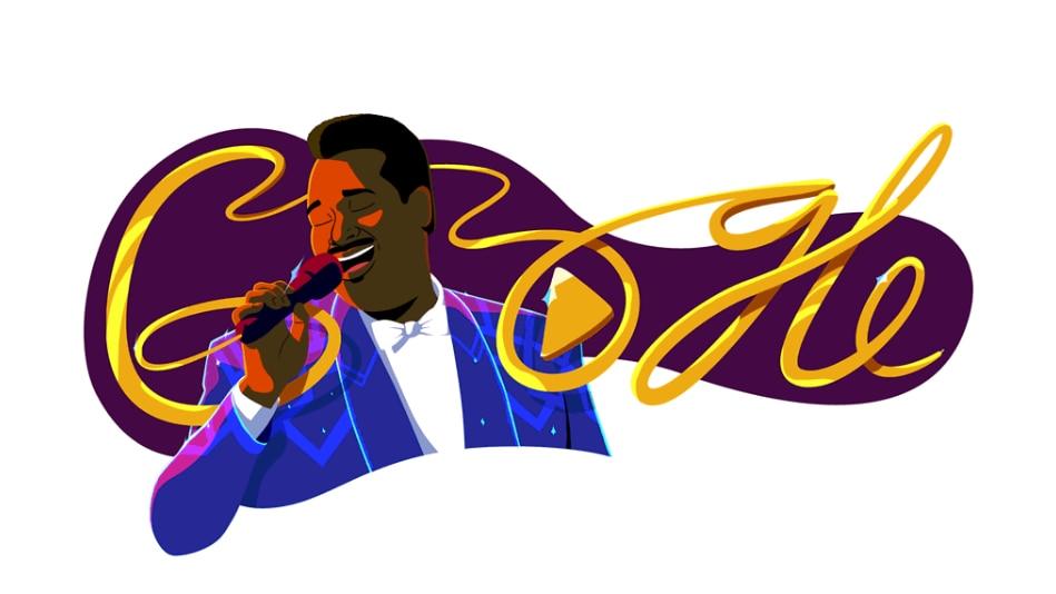 Google Doodle für Luther Vandross