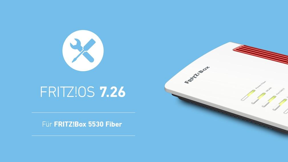 FritzOS 7.26 für FritzBox 5530 Fiber