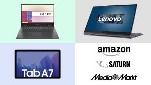 Amazon, Media Markt, Saturn: Top-Deals des Tages!©Amazon, Media Markt, Saturn, Lenovo, HP, Samsung
