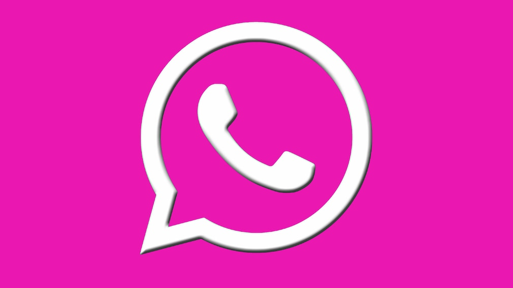 WhatsApp-Logo: Pink © WhatsApp