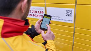 DHL App und Packstation©DHL