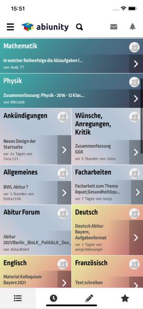 Abiunity (App für iPhone & iPad)