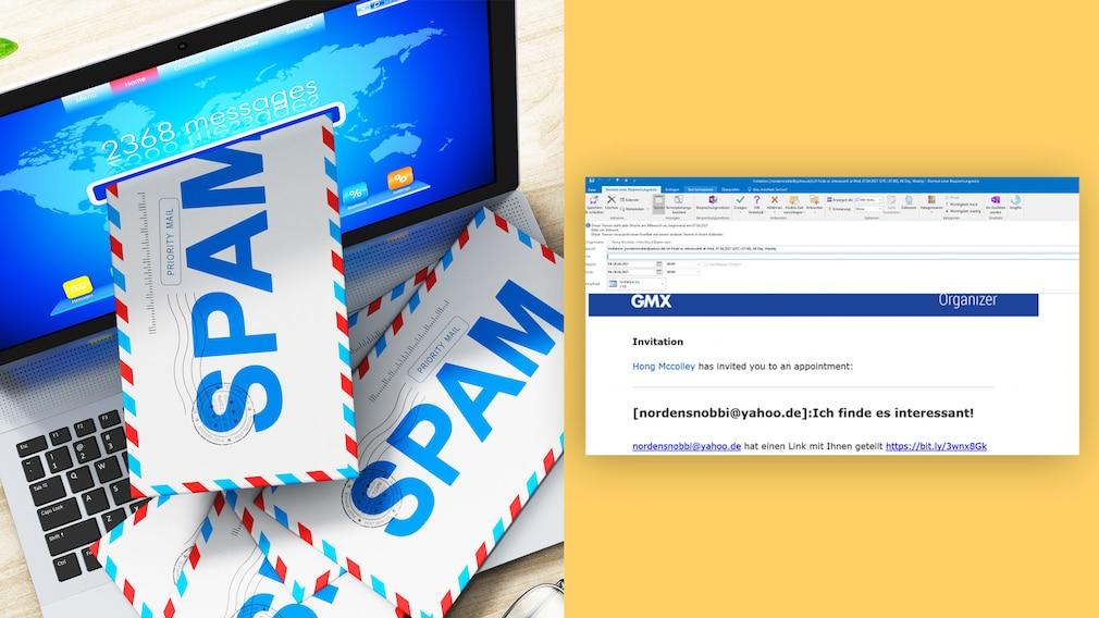 Spam mittels Termineinladung: Diese E-Mails sind gefährlich!