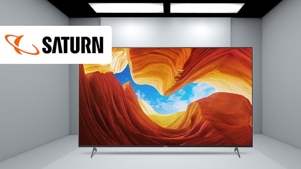Sony-Fernseher bei Saturn im Angebot: Smart-TV mit Direktabzug günstiger