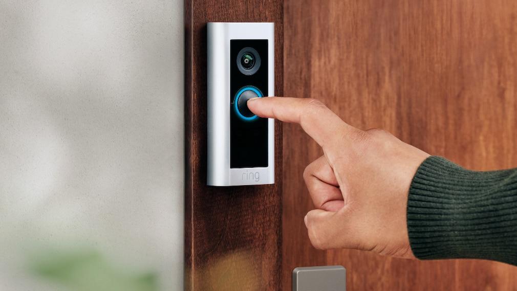 Ring Video Doorbell Pro 2 an der Haustür