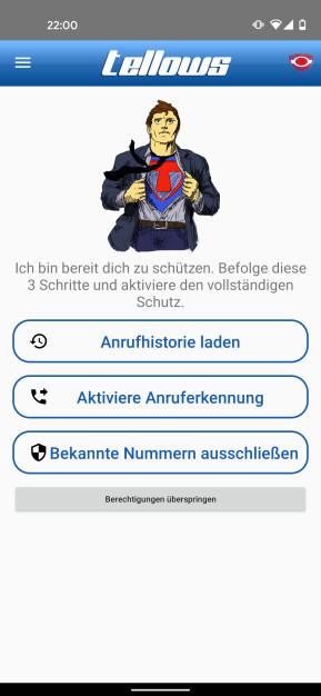 Tellows: Anruferkennung & Blockierung (Android-App)