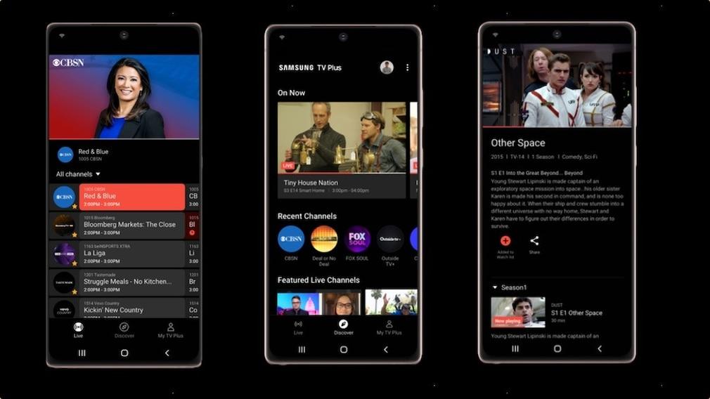 TV-Plus-App von Samsung