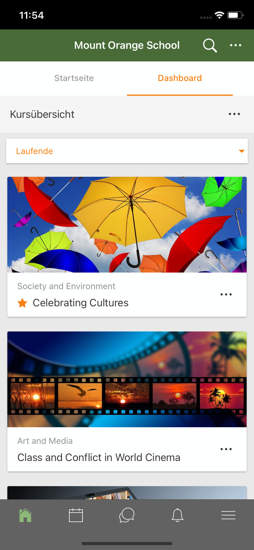 Screenshot 1 - Moodle (App für iPhone & iPad)