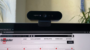 Logitech Brio 4K im Test: Keine filmt schärfer©Logitech, Apple, COMPUTER BILD