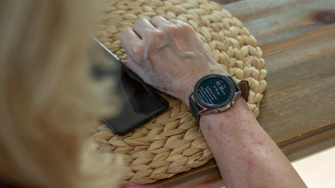 Galaxy Watch 3 Blutdruck messen Ergebnis©COMPUTER BILD